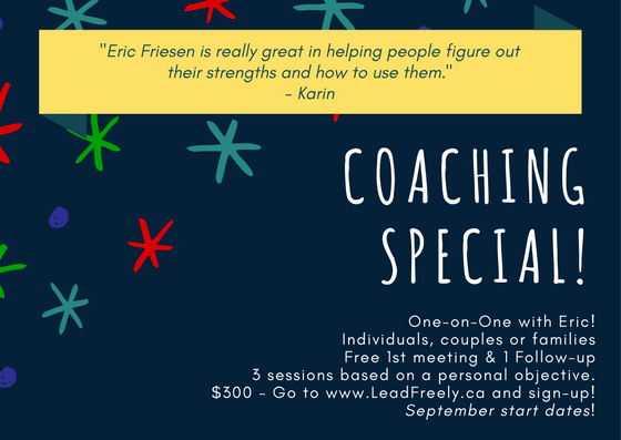 Coaching Special!
